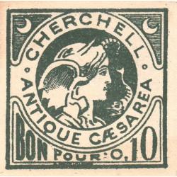 Algérie - Cherchell 3 - 0,10 franc - 1916 - Etat : NEUF