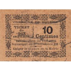 Algérie - Douéra 2 - 10 centimes - 19/11/1916 - Etat : TTB