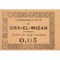 Algérie - Dra -El-Mizan 1b - 0,05 franc - 27/02/1917 - Etat : NEUF
