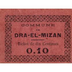 Algérie - Dra -El-Mizan 2b - 0,10 franc - 27/02/1917 - Etat : SUP