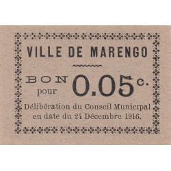 Algérie - Marengo 2 - 0,05 franc - 24/12/1916 - Etat : NEUF