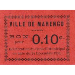 Algérie - Marengo 4b - 0,10 franc - 24/12/1916 - Etat : NEUF