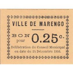 Algérie - Marengo 6 - 0,25 franc - 24/12/1916 - Etat : NEUF
