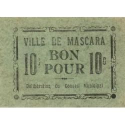 Algérie - Mascara 4 - 10 centimes - 1916 - Etat : SPL