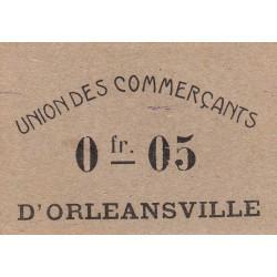 Algérie - Orléansville 4 - 0,05 franc - 1916 - Etat : SPL