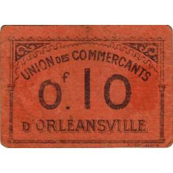 Algérie - Orléansville 11 - 0,10 franc - 1916 - Etat : TB+