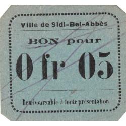 Algérie - Sidi-Bel-Abbès 4a - 0,05 franc - 1916 - Etat : NEUF