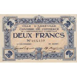 Abbeville - Pirot 1-5a - 2 francs - Sans date - Etat : SPL