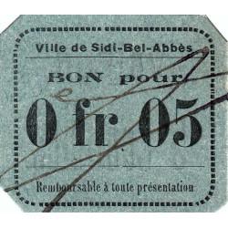 Algérie - Sidi-Bel-Abbès 4b - 0,05 franc - 1916 - Etat : SPL