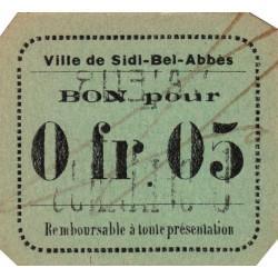 Algérie - Sidi-Bel-Abbès 5b - 0,05 franc - 1916 - Etat : pr.NEUF