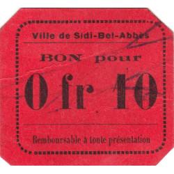 Algérie - Sidi-Bel-Abbès 7a - 0,10 franc - 1916 - Etat : SUP