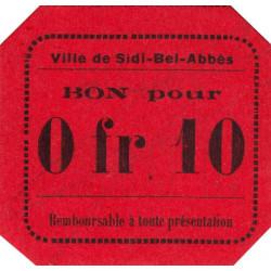 Algérie - Sidi-Bel-Abbès 7a - 0,10 franc - 1916 - Etat : NEUF