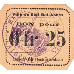 Algérie - Sidi-Bel-Abbès 10 - 0,25 franc - 1916 - Etat : NEUF