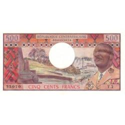 Centrafrique - Pick 1 - 500 francs - Etat : NEUF