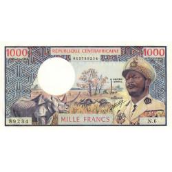 Centrafrique - Pick 2 - 1'000 francs - Série N.6 - 1974 - Etat : NEUF
