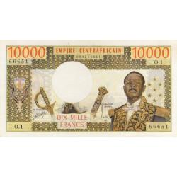 Centrafrique - Pick 8 - 10'000 francs - Série O.1 - 1978 - Etat : TTB+