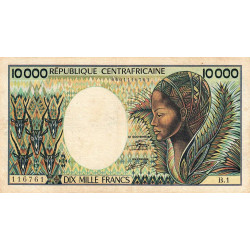 Centrafrique - Pick 13_1 - 10'000 francs - 1983 - Etat : TB