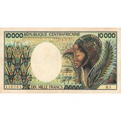Centrafrique - Pick 13_1 - 10'000 francs - Série B.1 - 1983 - Etat : TB