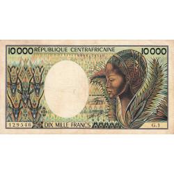 Centrafrique - Pick 13_1 - 10'000 francs - Série G.1 - 1983 - Etat : TB