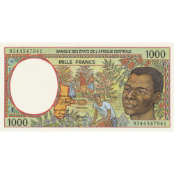 Centrafrique - Afr. Centrale - P 302Fa - 1'000 francs - 1993 - Etat : NEUF