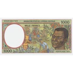 Centrafrique - Afr. Centrale - P 302Ff - 1'000 francs - 1999 - Etat : NEUF