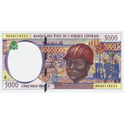 Centrafrique - Afr. Centrale - P 304Fe - 5'000 francs - 1999 - Etat : NEUF