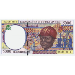 Centrafrique - Afr. Centrale - P 304Fe - 5'000 francs - Etat : NEUF