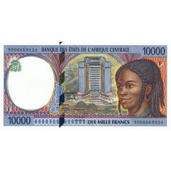 Centrafrique - Afr. Centrale - P 305Fe - 10'000 francs - 1999 - Etat : NEUF