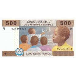 Centrafrique - Afr. Centrale - P 306Ma - 500 francs - 2002 - Etat : NEUF