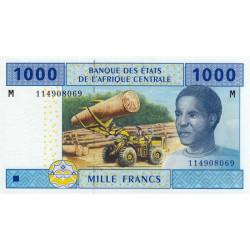 Centrafrique - Afr. Centrale - P 307M - 1'000 francs - 2002 - Etat : NEUF