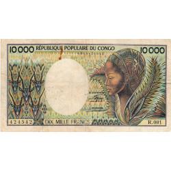 Congo (Brazzaville) - Pick 7 - 10'000 francs - 1983 - Etat : TB-
