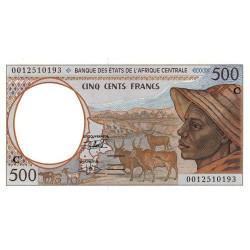 Congo (Brazzaville) - Afr. Centrale - Pick 101Cg - 500 francs - 2000 - Etat : NEUF