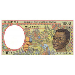 Congo (Brazzaville) - Afr. Centrale - Pick 102Ch - 1'000 francs - 2002 - Etat : NEUF