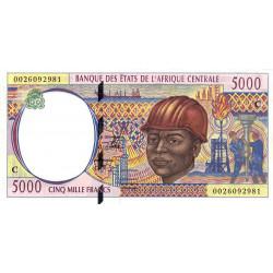 Congo (Brazzaville) - Afr. Centrale - Pick 104Cf - 5'000 francs - 2000 - Etat : NEUF