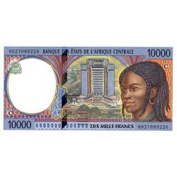 Congo (Brazzaville) - Afr. Centrale - P 105Cf - 10'000 francs - 2000 - Etat : NEUF