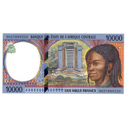 Congo (Brazzaville) - Afr. Centrale - Pick 105Cf - 10'000 francs - 2000 - Etat : NEUF
