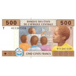 Congo (Brazzaville) - Afr. Centrale - Pick 106Ta - 500 francs - 2002 - Etat : NEUF