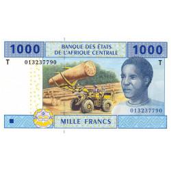 Congo (Brazzaville) - Afr. Centrale - P 107Ta - 1'000 francs - 2002 - Etat : NEUF
