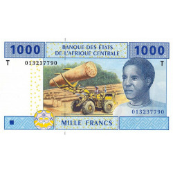 Congo (Brazzaville) - Afr. Centrale - Pick 107Ta - 1'000 francs - 2002 - Etat : NEUF