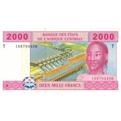 Congo (Brazzaville) - Afr. Centrale - P 108T-1 - 2'000 francs - 2002 - Etat : NEUF