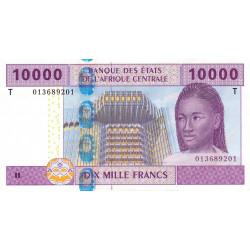 Congo (Brazzaville) - Afr. Centrale - P 110T-1 - 10'000 francs - 2002 - Etat : NEUF