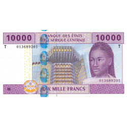 Congo (Brazzaville) - Afr. Centrale - Pick 110Ta - 10'000 francs - 2002 - Etat : NEUF