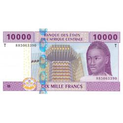 Congo (Brazzaville) - Afr. Centrale - P 110T-2 - 10'000 francs - 2010 - Etat : NEUF