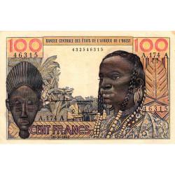 Côte d'Ivoire - Pick 101Ab - 100 francs - Série A.174 - 20/03/1961 - Etat : SUP