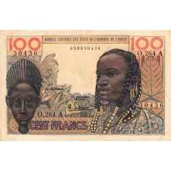 Côte d'Ivoire - Pick 101Ag - 100 francs - Série O.264 - 1966 - Etat : TB+