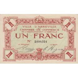 Abbeville - Pirot 1-15a - 1 franc - Sans date - Etat : SUP
