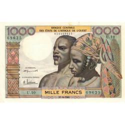 Etats Afrique Ouest - Pick 4 - 1'000 francs - Etat : SPL