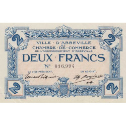 Abbeville - Pirot 1-17 - 2 francs - Sans date - Etat : SPL