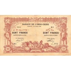 Djibouti - Pick 5 - 100 francs - 02/01/1920 - Etat : TTB