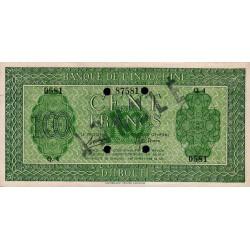 Djibouti - Pick 16 annulé - 100 francs - 1944 - Etat : SUP+